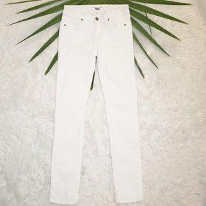 Paige | Skyline Skinny White Jeans